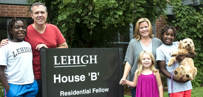 No place like home: Sayre House 'B' becomes home to Lehigh professor and family