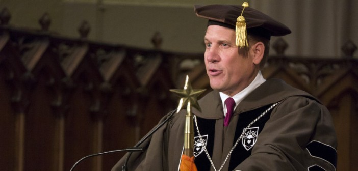 Lehigh honors Asa Packer in 136th Founder's Day