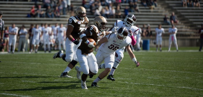 Hawks rammed by Fordham at homecoming game