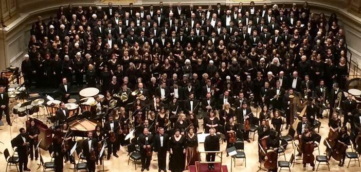 'Practice, practice, practice' pays off for Choral Arts at Carnegie Hall