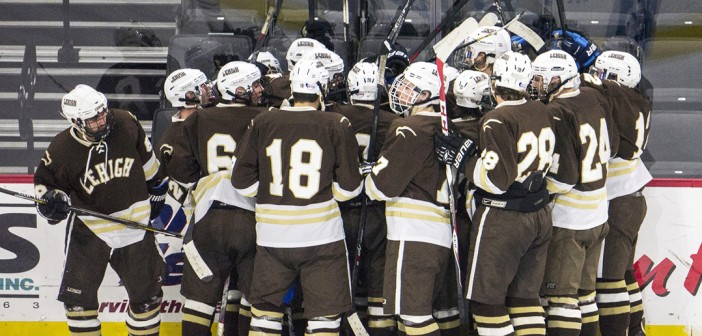 Hockey secures intense overtime victory against Lafayette