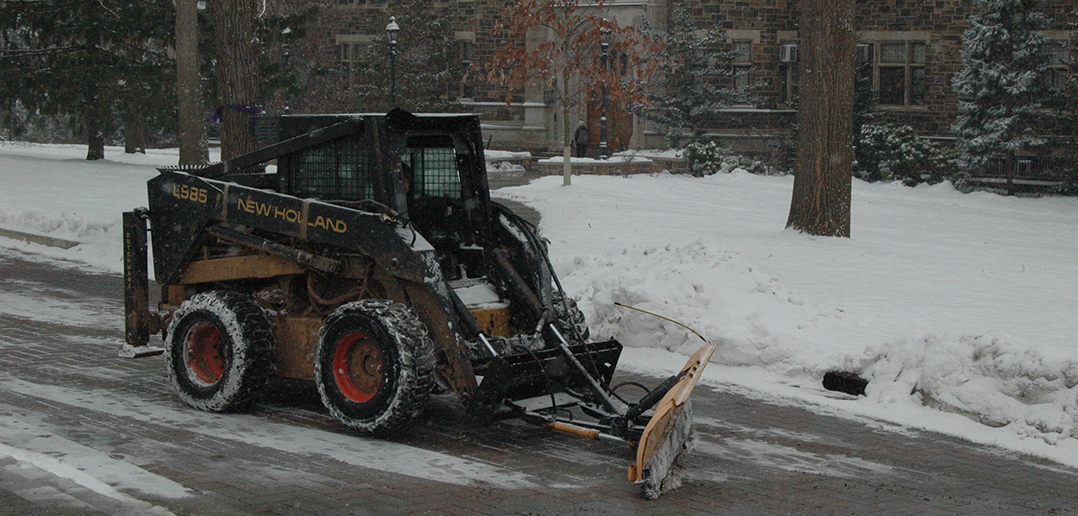 Lehigh prepares for winter weather on campus - The Brown and White
