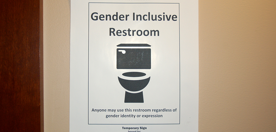 gender inclusive restrooms implemented across campus the brown and rh thebrownandwhite com All Gender Bathroom gender inclusive bathrooms
