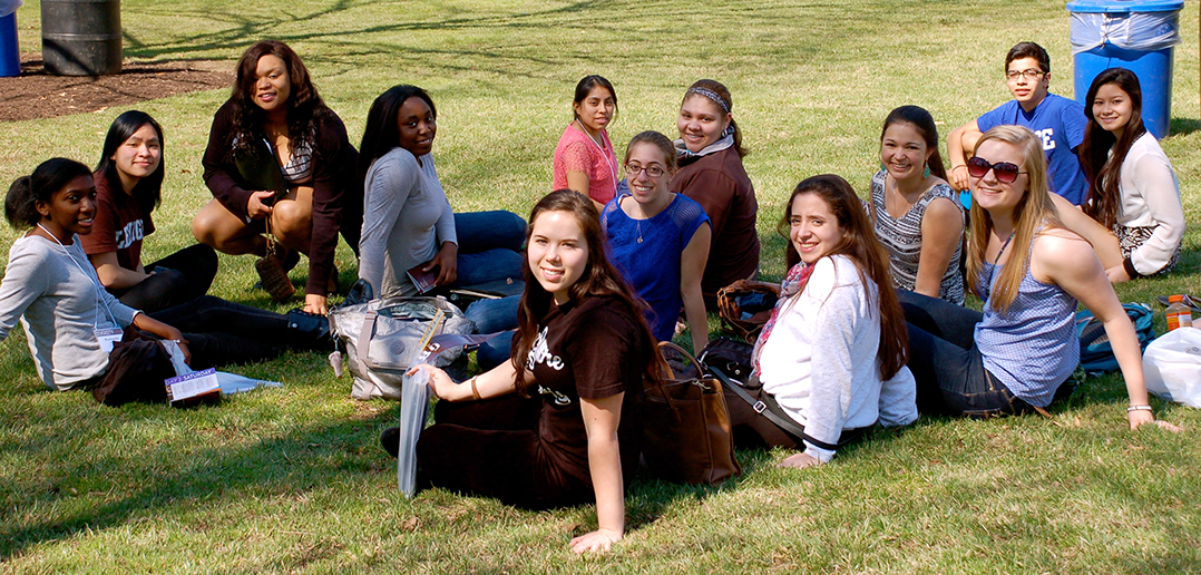 Accepted students visit for Diversity Life Weekend - The ...