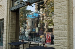 The Blue Sky Cafe in Bethlehem, seen here on Friday, Sept. 25, 2015, is a popular spot for both students and locals. The cafe, a staple for many South Side residents, also has another location in Easton. (Meg Kelly/B&W Photo)