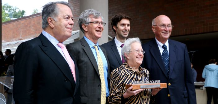 Campus Square renamed Farrington Square in honor of former Lehigh president