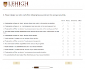 Lehigh distributes first campus climate survey since 2007