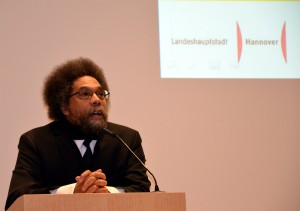 Cornel West (Courtesy of Wikimedia Commons)