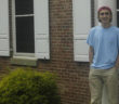 Riley Amelio 18' poses in front of his fraternity house, Pi Kappa Alpha, on Monday, Sept. 19, 2016. Amelio is one of a handful of Lehigh students who, despite not being considered an international student, grew up in a different country. (Alek Mosholt/B&W Staff)
