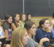 Lehigh women engineers attend a Society of Women Engineers meeting Thursday, Sept. 22, 2016, in Maginnes Hall. The club will attend the WE16 conference in Philadelphia this October. (Malcolm Scobell/B&W Staff)