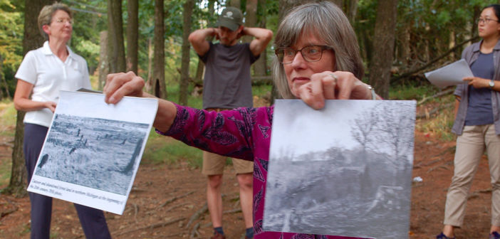 Students, faculty explore forgotten 'Lost Forest' after 50 years