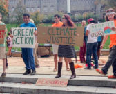 VIDEO: Green Action holds fossil fuel divestment protest
