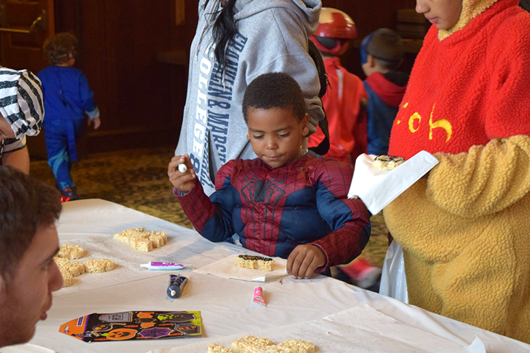 Local Bethlehem children were in full Halloween costume at Spooktacular on Sunday, Oct. 23, 2016. There was an impressive array of costumes from both parents and children. (Malcolm Scobell/B&W staff)