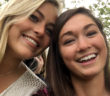 Megan Kienzle, '17, and Leanne Purcell take a selfie together. Megan was the only match for Leanne when she needed an emergency liver transplany that would ultimately save her life. (Courtesy of Megan Kienzle)