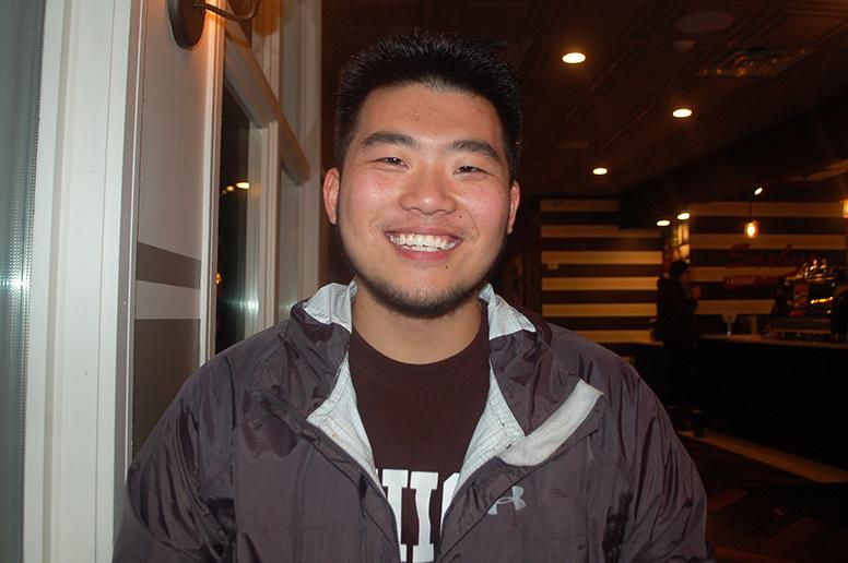 Ben Wang, '20 (Emily Linderman/B&W Staff)