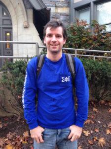 David Kabrt (Gabby Pomerantz/B&W Staff)