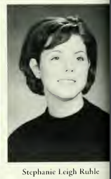 Stephanie Ruhle (Courtesy of 1997 Epitome yearbook)
