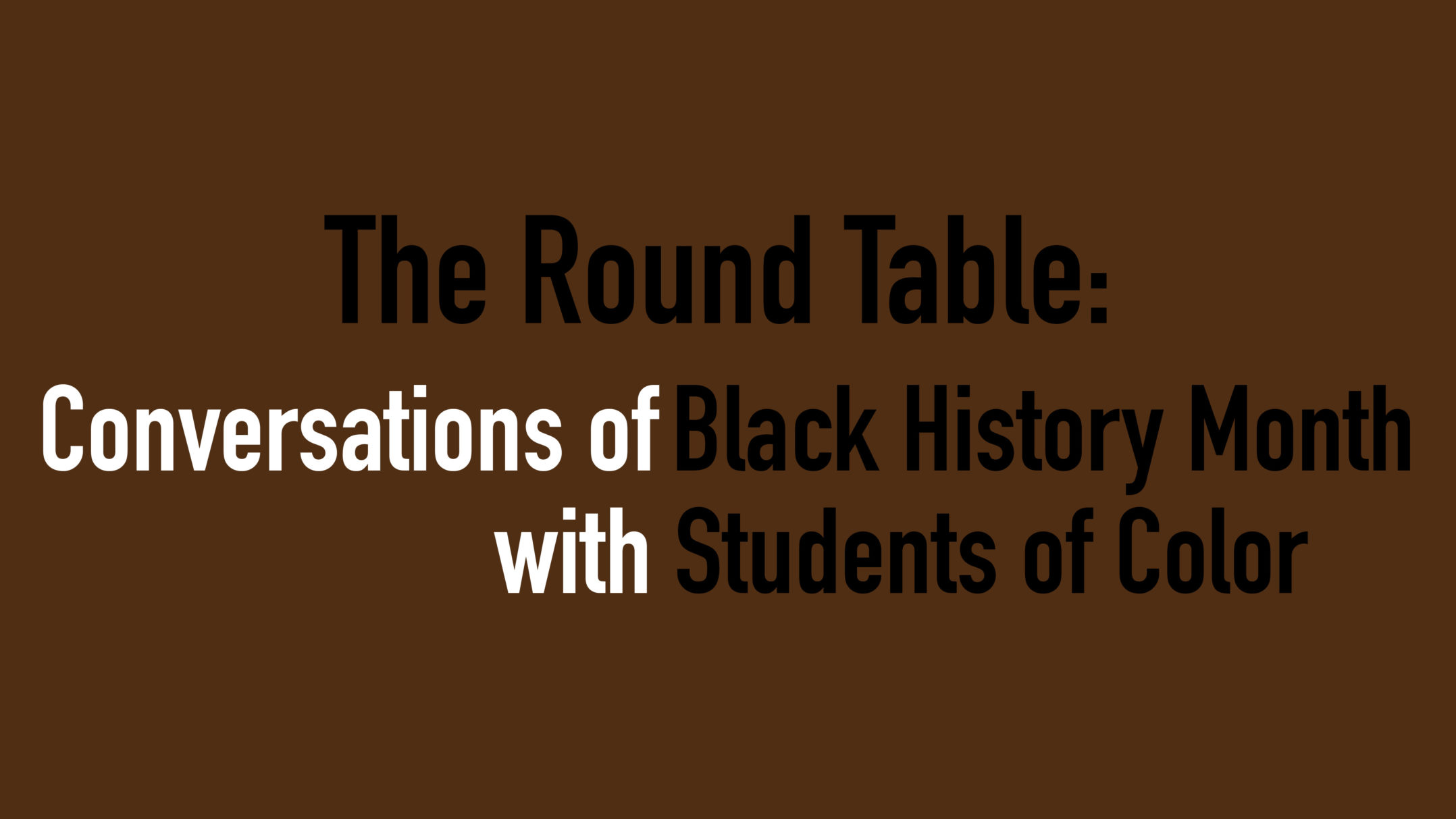 all the lehigh university news first the brown and white podcast 28 days black students of color reflect on black history month