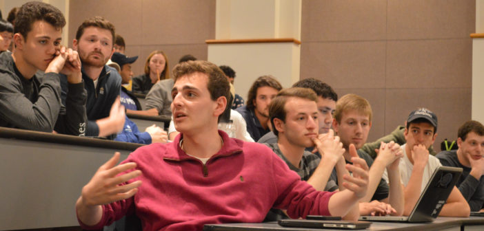 Students host town hall to discuss dangerous party culture