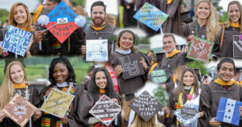 GALLERY: Members of the class of 2017 decorate their graduation caps