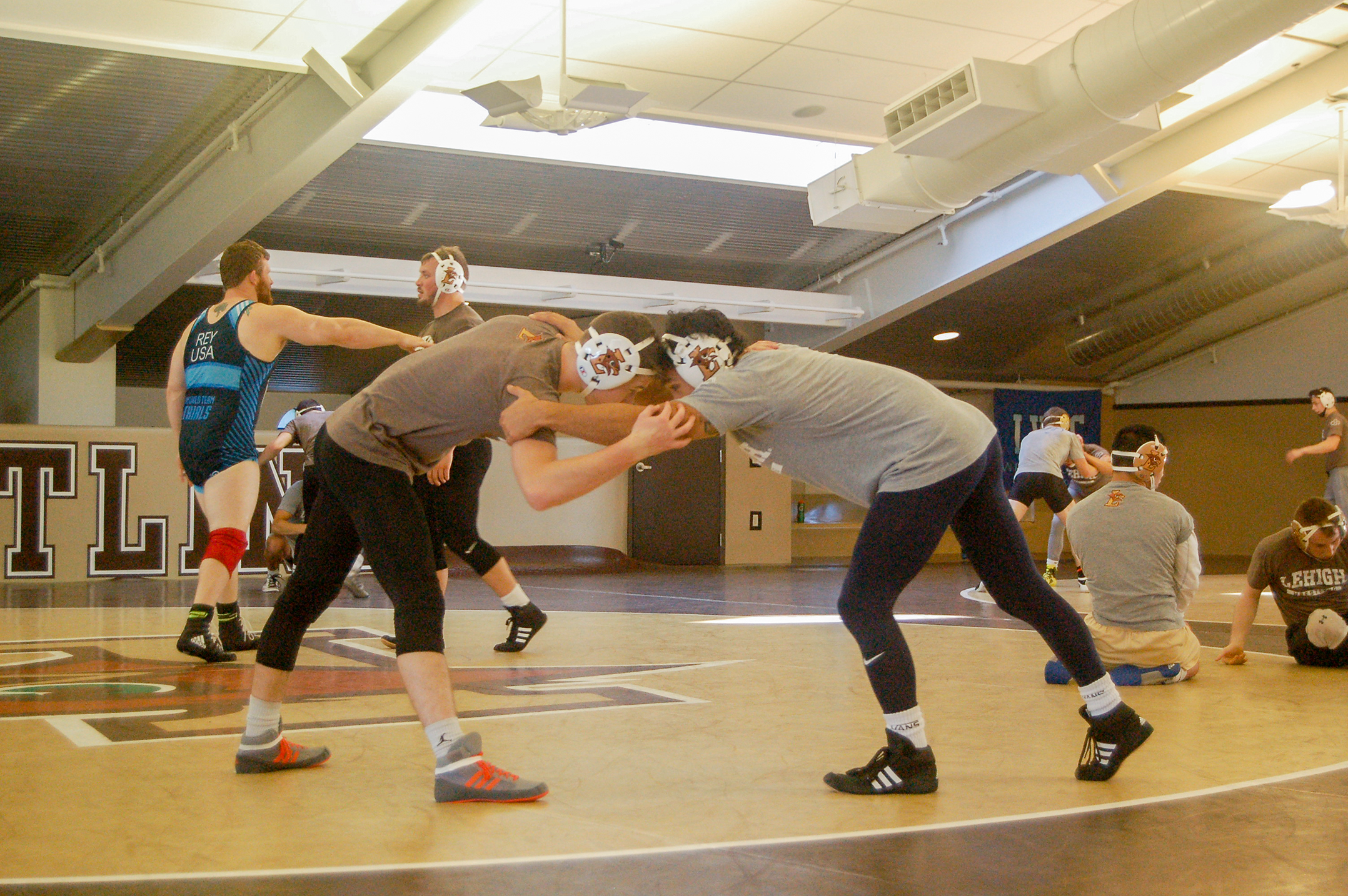 Lehigh wrestling prepares for tough schedule in new season