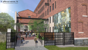 Brinker Loft Apartments Will Offer Studio For Students As Well One And Two Bedroom An Outdoor Courtyard Possibly A Cafe