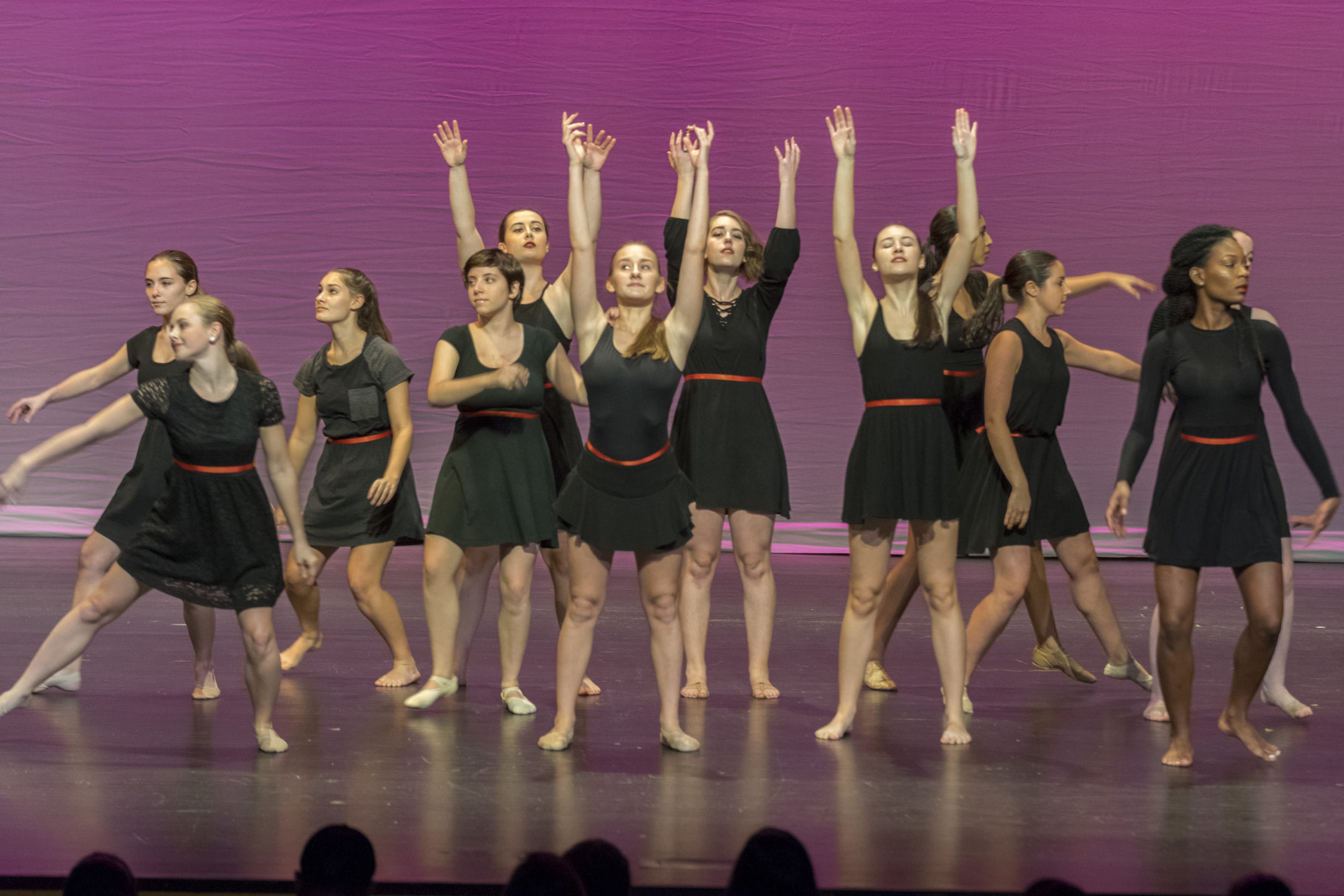 Lehigh Dancin performs at FUSION on Thursday, Nov. 12, 2017, in Zoellner Arts Center. FUSION took place in Baker Hall from 7 to 9 pm.