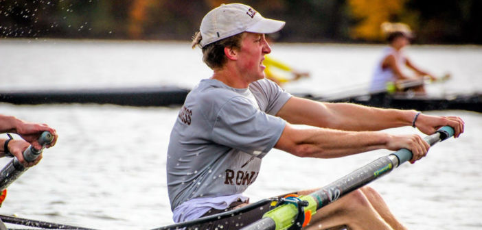 Chet Bickhart takes rowing career to the next level