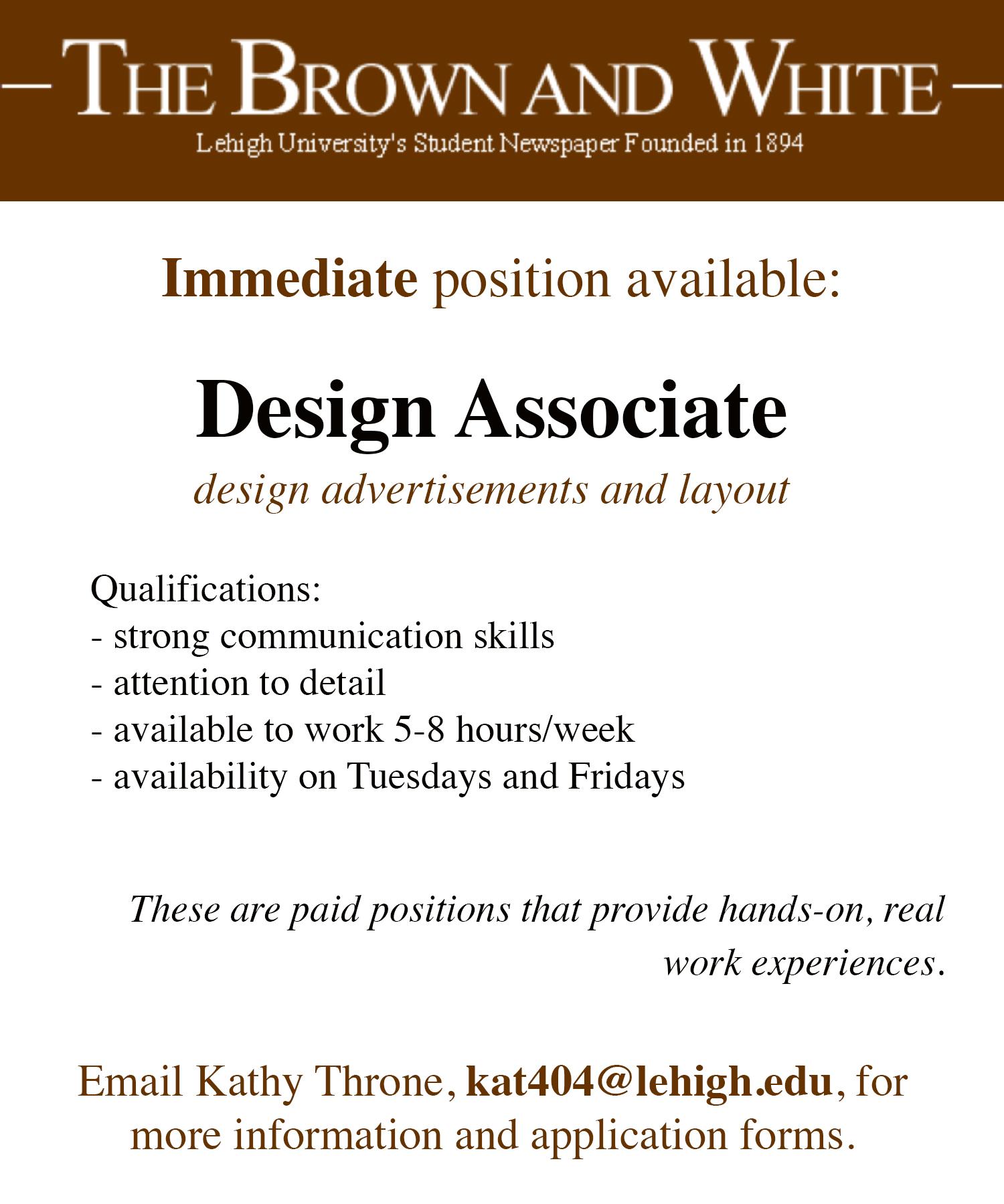 house hiring ad