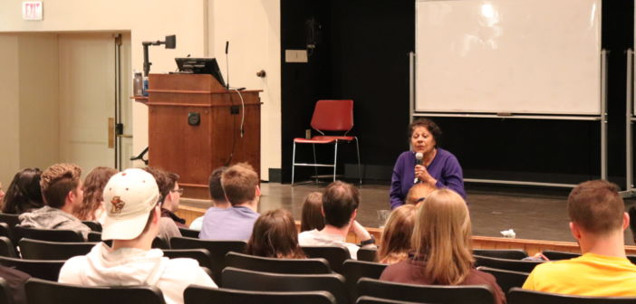 NAACP's Joan Duvall-Flynn encourages youth to create social change