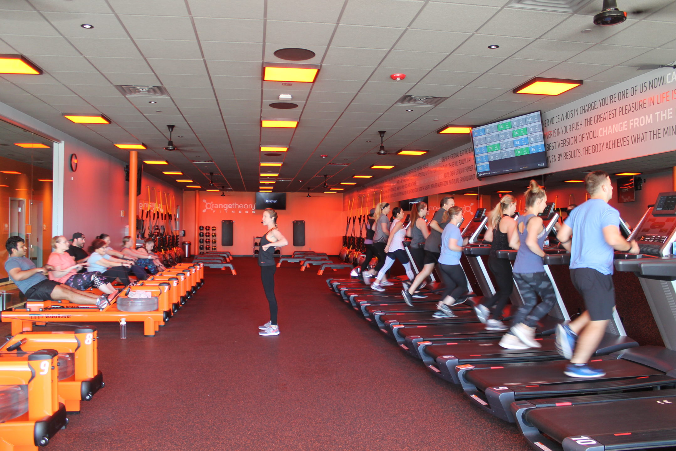 Orangetheory fitness opens in allentown the brown and white