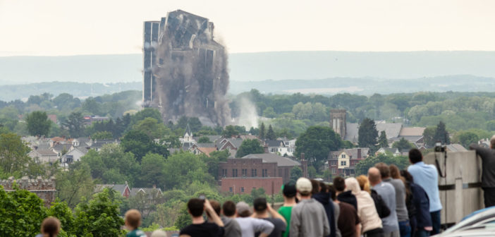 GALLERY: Martin Tower implodes on Sunday