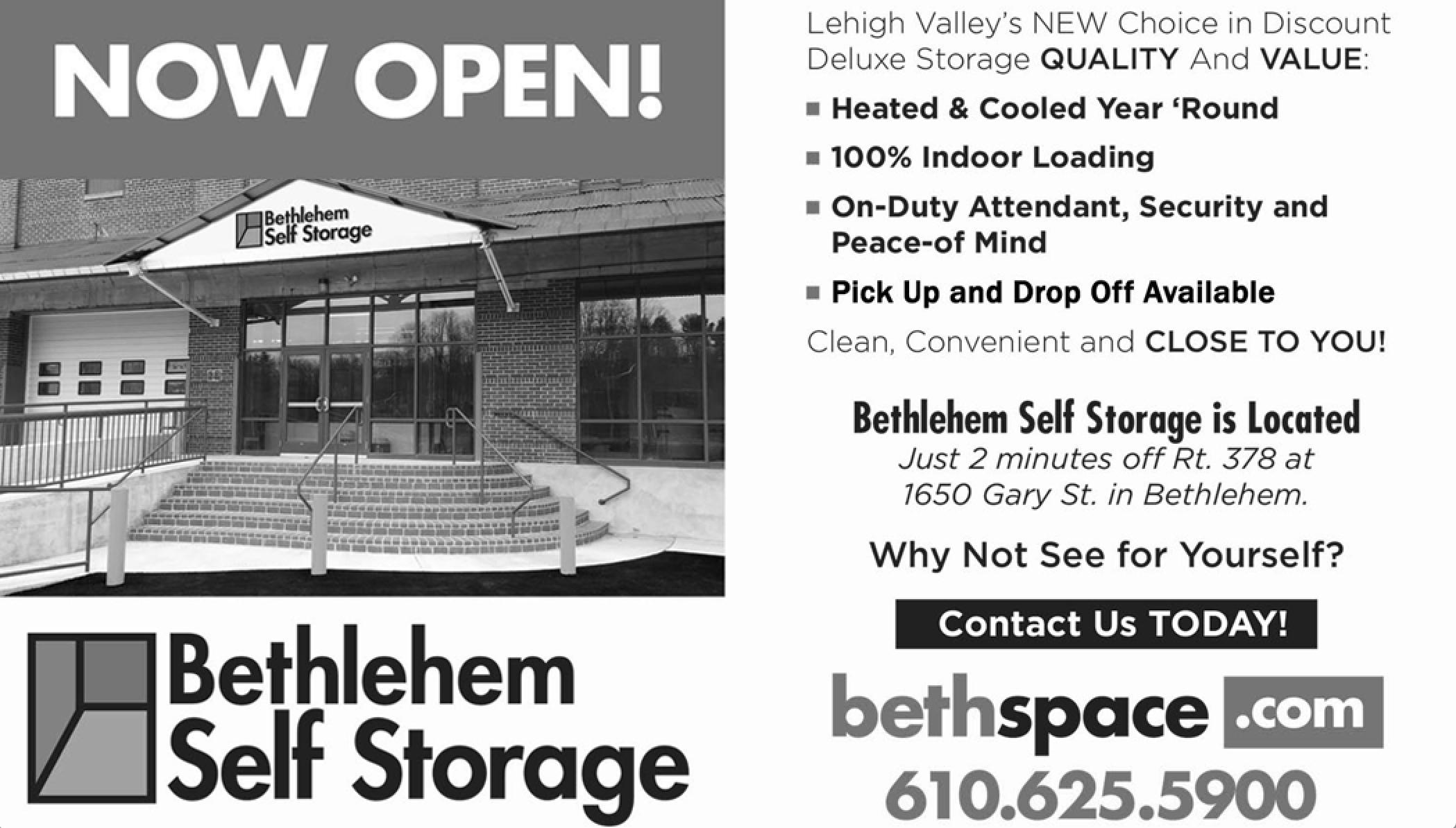 3388_Kimmet 4/13-5/20 Bethlehem Storage