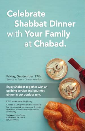 Shabbat family dinner